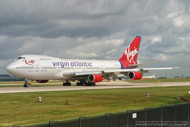 TF-ATN. Boeing 747-219B. Virgin Atlantic. Manchester. 100503.