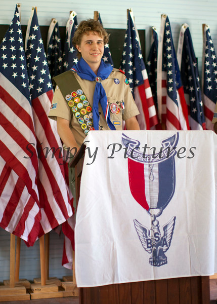 Eagle Scout Ceremony for Weston051
