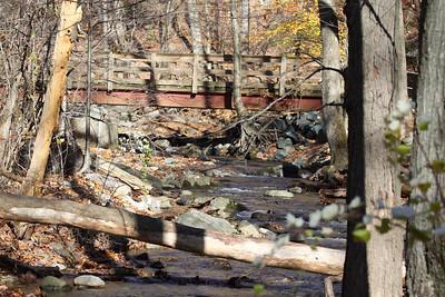 Hiking Near Delaware Water Gap November 7 2010