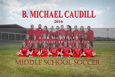 2016 BMCMS Girls Soccer
