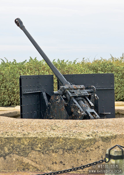 WWII Gun  2    Photography by Wayne Heim