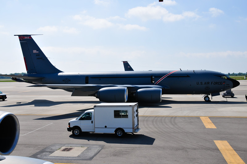 KC-135 at Rickenbacker AFB
