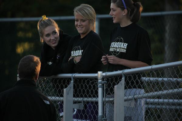 2009-10-08 IHS Girls Soccer vs Skyline