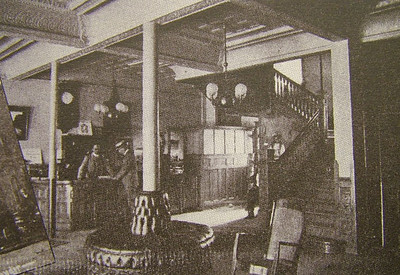 Spencer Center, Former Plaza Hotel Main Lobby in 1901