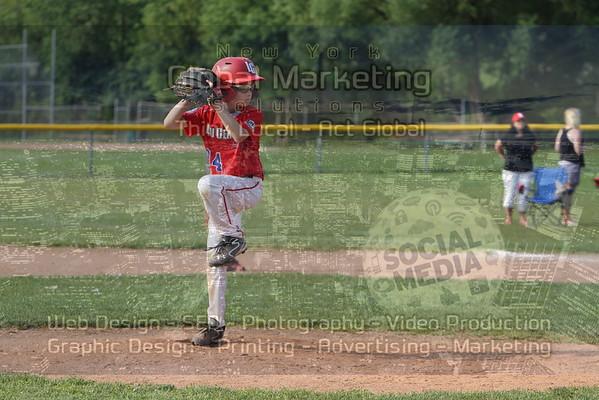 9U Matthewson McCarthy v. Lou Gehrig Red