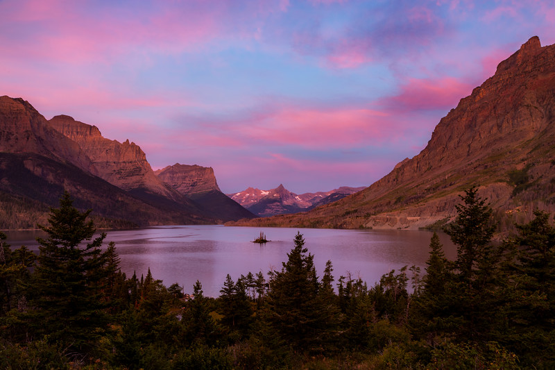 Sunrise Over Saint Mary Lake