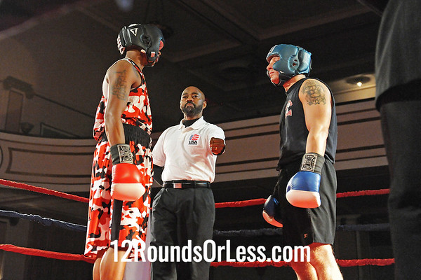Bout #1 Quan Williams, Cleveland Inner City-vs-Johnathan Molek, Brickhouse, Twinsburg