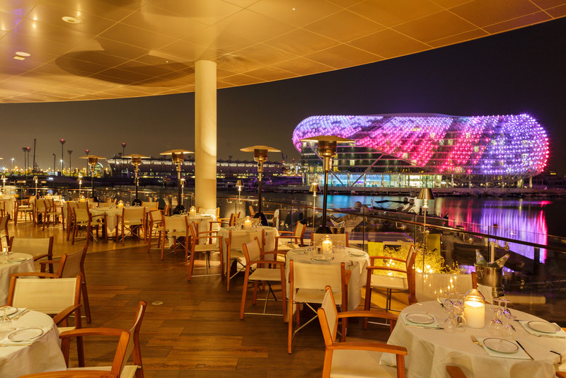 Cipriani restaurant, commissioned by Cipriani. Abu Dhabi
