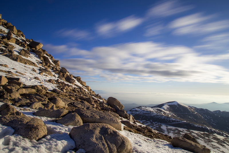 Mount Evans Clouds in Motion