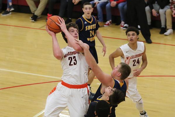 23 Boys Basketball:  Wheelersburg vs. South Point at Jackson (Sectional) 2017