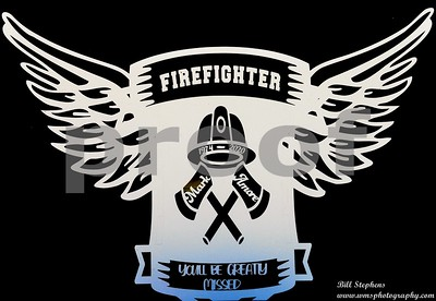 MARK AMORE #70 FIREFIGHTER FUNERAL
