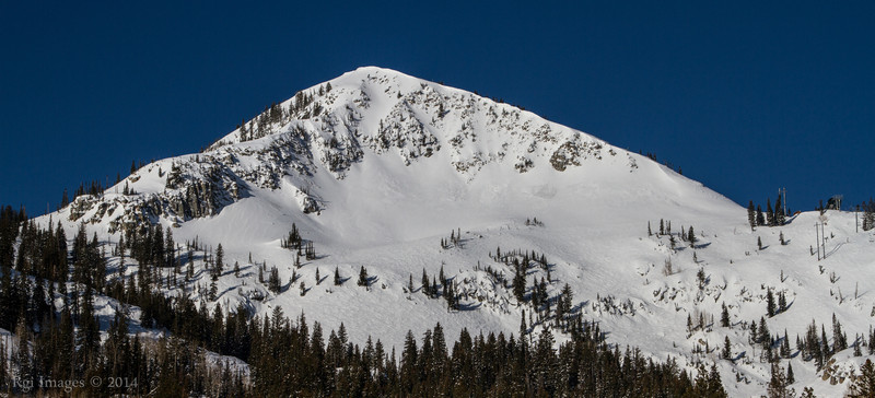 Mount Millicent (Elevation: 10,452), Wasatch Range, Utah.