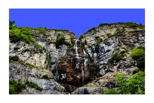 Stewart Falls, Utah