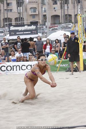 Huntington Beach, California Volleyball Tournament June 5th 2010