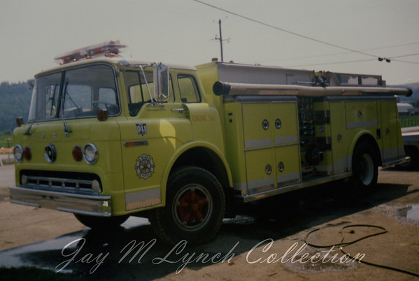 Ossian Fire Department - Disbanded