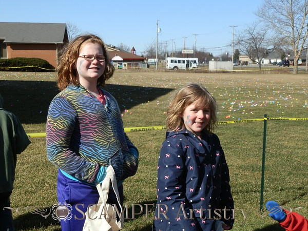 First Baptist Church Perrysburg Easter Egg Hunt 2015