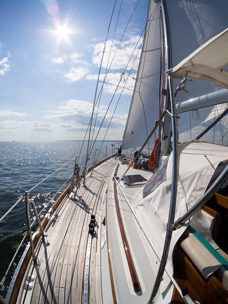 Block Island Sound Sail