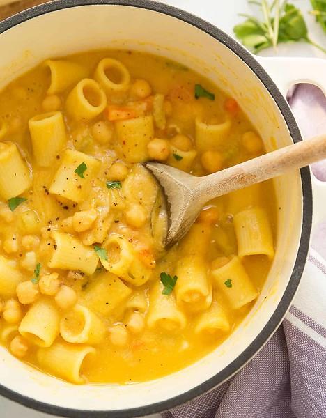 Pasta e Ceci - Vegan Italian Recipes