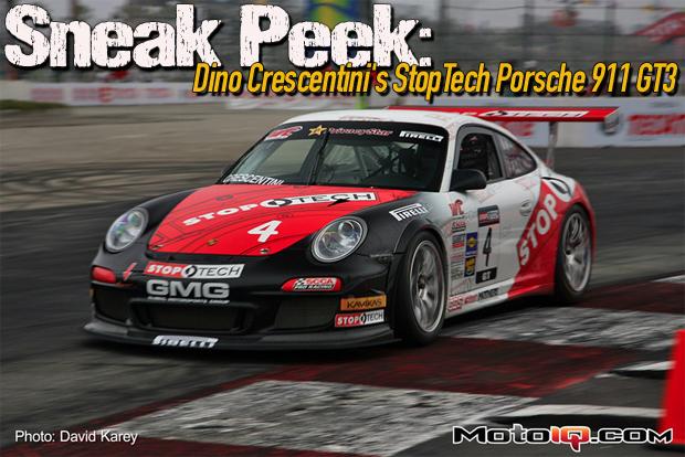 GMG StopTech Porsche 911 GT3 Dino Crescentini Long Beach