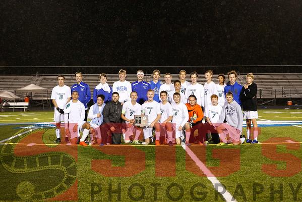 10-21-16 BHS Boys Soccer vs RCB Sectional Title