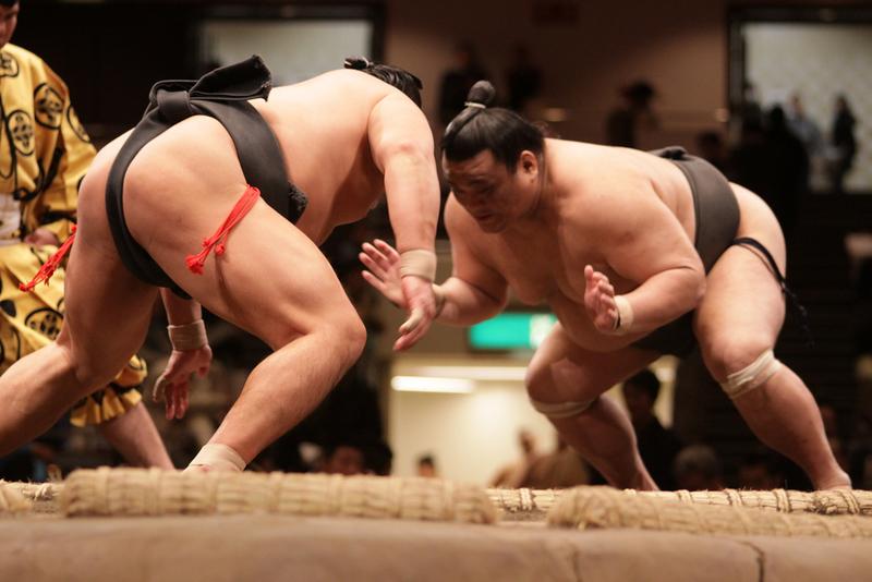 Sumo match in Tokyo. Editorial credit: J. Henning Buchholz / Shutterstock.com