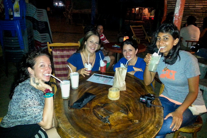 canoa with the girls.jpg