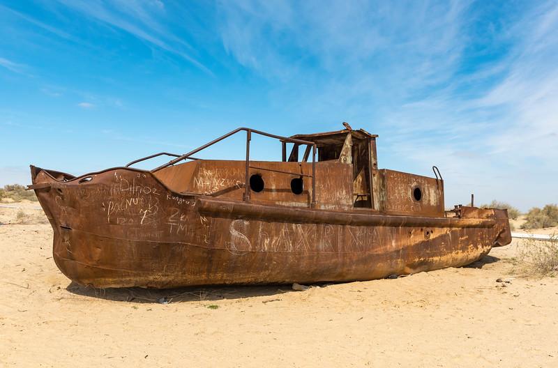 Rusting Ship, Moynaq