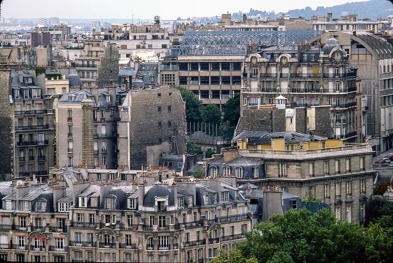 Paris street scene, Paris, France, 1977