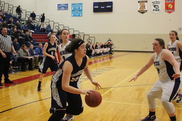 DC girls basketball vs. Glencoe-Silver Lake 2-2-17