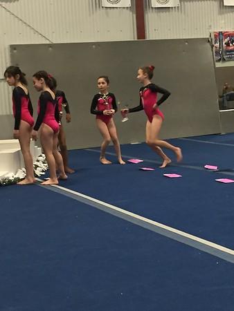Gnome 5 bday and sasha gymnastics 2016