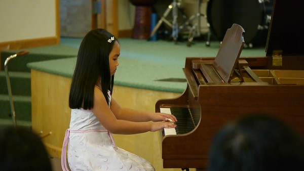Liesl and Lauren's Piano Recital 2014