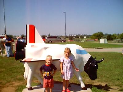 Labor day Cows