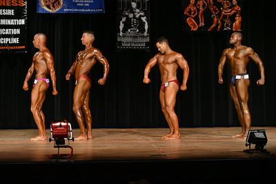 Men's Novice Bodybuilding Prejudging