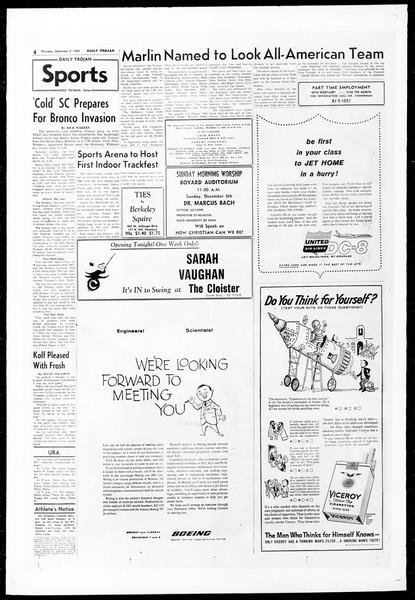 Daily Trojan, Vol. 51, No. 46, December 03, 1959
