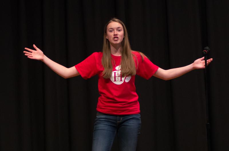 High School Poetry Slam '15