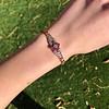 .86ctw Art Deco Ruby and Diamond Link Bracelet 10