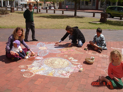 CHALK4PEACE 2008 Grahamstown, South Africa