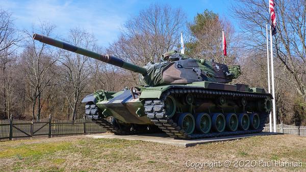 Hamilton Veterans Park - Trenton, NJ - M60A3+