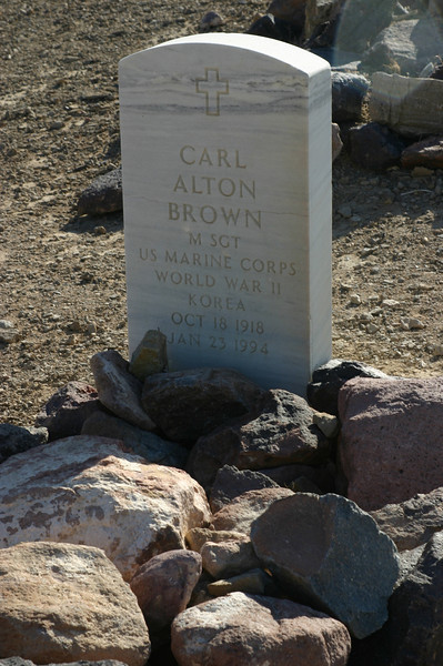And, for fans of Good Eats, it was interesting to note an Alton Brown tombstone.