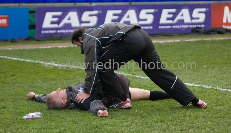 Sale Sharks vs Northampton Saints, Guinness Premiership, Edgeley Park, 25 April 2009