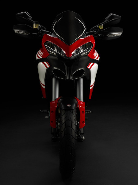 1/4: The 'face lift' Multistrada 1200 Pikes Peak for 2013