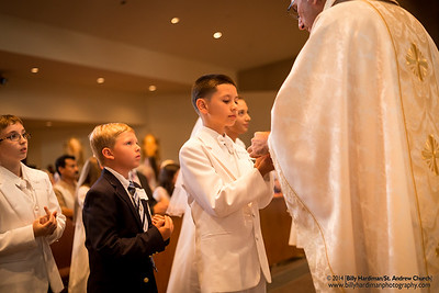 2014 Confirmation and First Eucharist (May18 Group2)