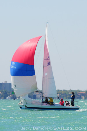 Bacardi Miami Sailing Week 2011-J24 Gallery