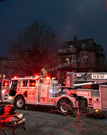 New Haven 1599 Chapel St dwelling fire