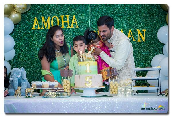 Amoha's 1st & Vihan's 5th Birthday Party 2019
