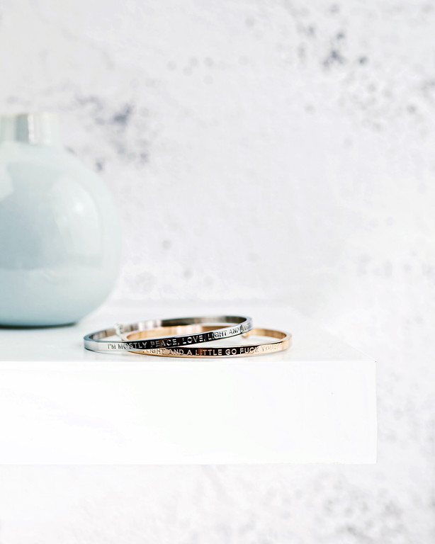 be bangles: jewlery for people with attitude