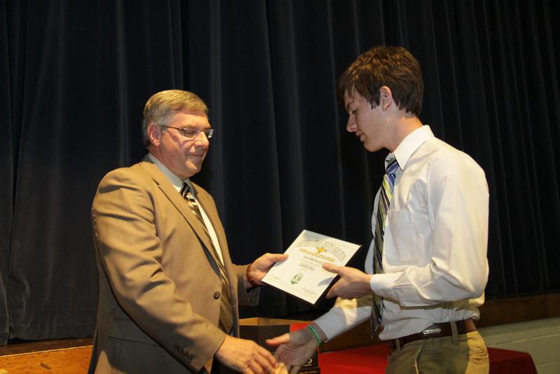 Awards Night 2012 - OHSAA Scholar Athlete Award