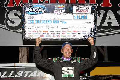 World of Outlaw Late Model event - 8/17/13