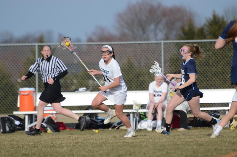 JV Girls Lacrosse April 2 vs Howard