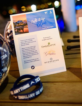 Light It Up Blue Event at 1000 North